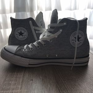 Converse Sparkle Knit High Tops